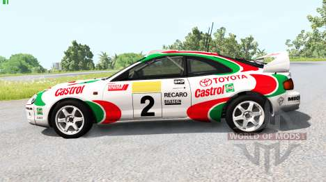 Toyota Celica GT-Four (ST205) 1995 WRC for BeamNG Drive