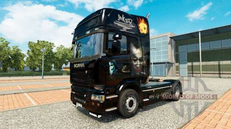Joker skin for Scania truck for Euro Truck Simulator 2