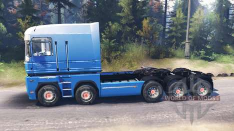 Renault Magnum 10x10 v3.0 for Spin Tires