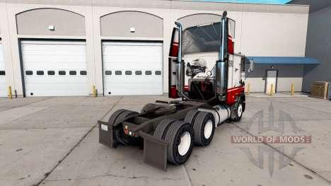 Skin Silver Eagle truck Freightliner FLB for American Truck Simulator