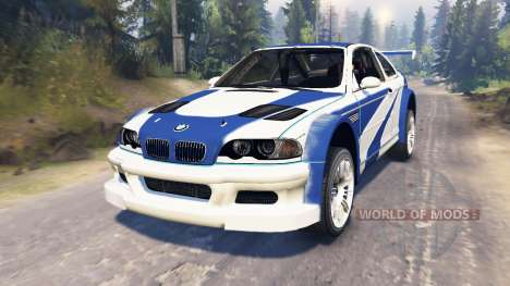 BMW M3 (E46) GTR [Most Wanted] for Spin Tires