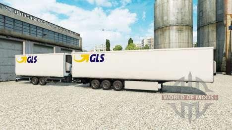 Semi-trailers Krone Gigaliner [GLS] for Euro Truck Simulator 2