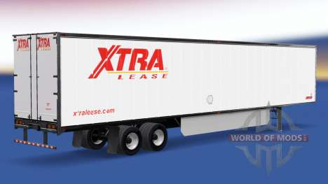 Skin Extra Lease on the trailer for American Truck Simulator