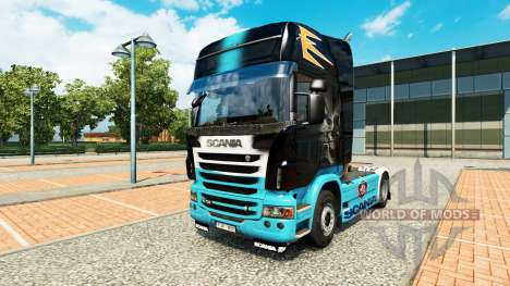 Skin Scania R for Scania truck for Euro Truck Simulator 2