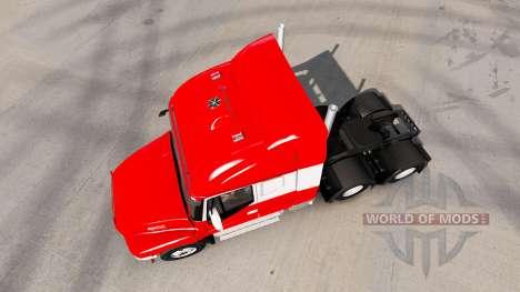 Iveco Strator 6x6 for American Truck Simulator