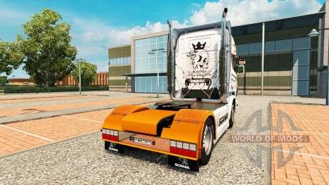 Skin for Scania R2009 truck Scania for Euro Truck Simulator 2