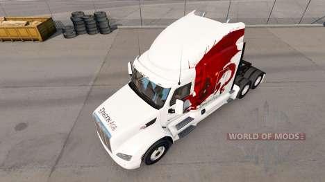 Dragon Age skin for the truck Peterbilt for American Truck Simulator