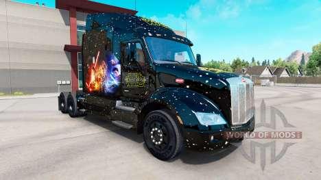 Star Wars skin for the truck Peterbilt for American Truck Simulator