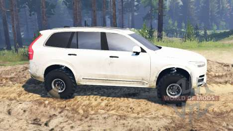 Volvo XC90 for Spin Tires