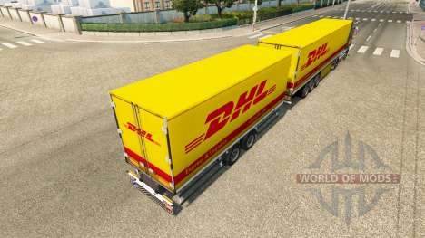 Semi-trailers Krone Gigaliner [DHL] for Euro Truck Simulator 2