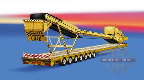 Low sweep with different loads. for American Truck Simulator