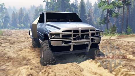 Dodge Ram for Spin Tires