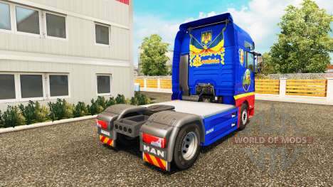 Romanian skin for MAN truck for Euro Truck Simulator 2