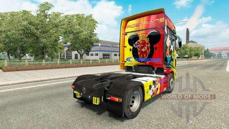 Skin Rostrans Disney Scania R700 truck for Euro Truck Simulator 2