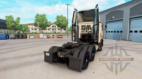Skin Absolute Badass on the truck Freightliner F for American Truck Simulator