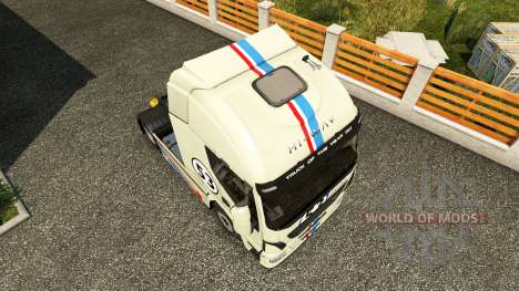 Herbie skin for Iveco tractor unit for Euro Truck Simulator 2