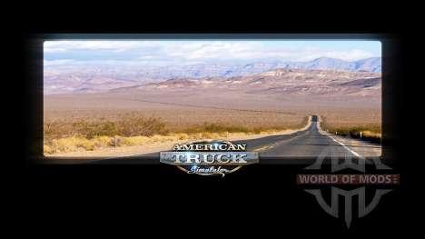 Loading screens California for American Truck Simulator