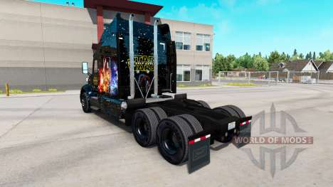 Star Wars skin for the truck Peterbilt for American Truck Simulator