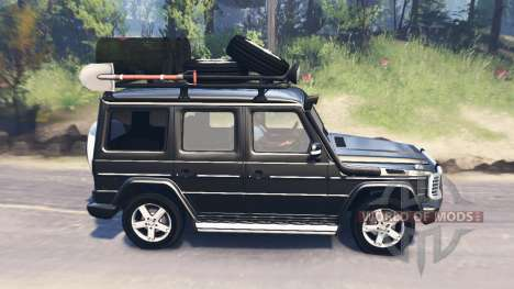 Mercedes-Benz G 500 v2.0 for Spin Tires