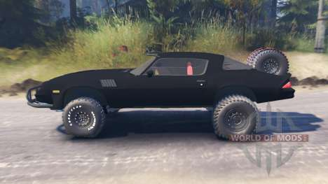 Chevrolet Camaro [offroad edition] for Spin Tires