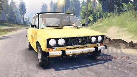 VAZ-2106 for Spin Tires