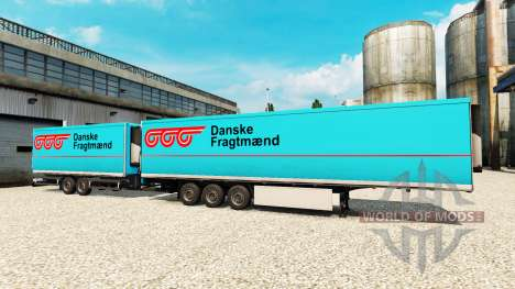 Semi-Trailers Krone Gigaliner [Danske Fragtmaend for Euro Truck Simulator 2