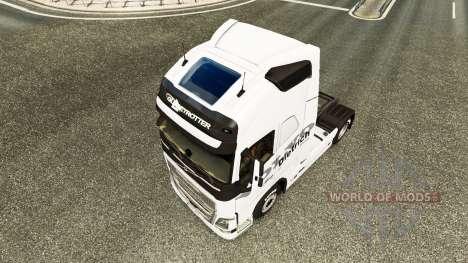 Dietrich skin for Volvo truck for Euro Truck Simulator 2