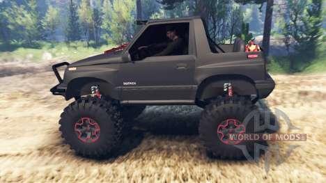 Suzuki Sidekick v2.0 for Spin Tires