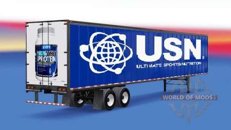 All-metal semi-USN for American Truck Simulator