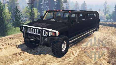 Hummer H3 [limousine] for Spin Tires