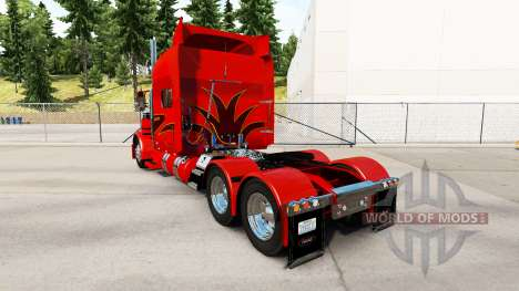 The skin of the Orange Show for the truck Peterb for American Truck Simulator