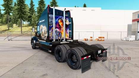 Skin Indian Spirit for truck Peterbilt for American Truck Simulator