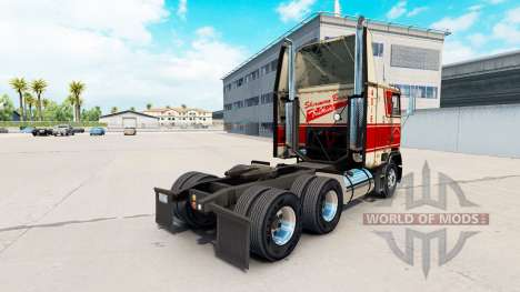 Skin on Sherman Bros truck Freightliner FLB for American Truck Simulator