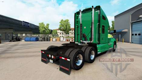 Skin on Freightlines Kenworth tractor for American Truck Simulator