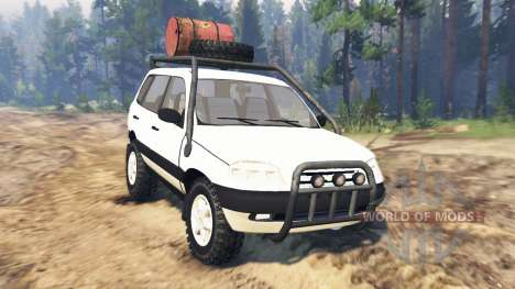 ВАЗ-21236 Chevrolet Niva for Spin Tires