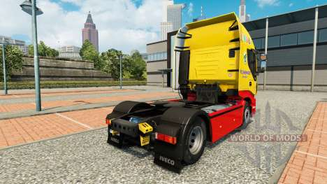 Fred Sherwood skin for Iveco tractor unit for Euro Truck Simulator 2