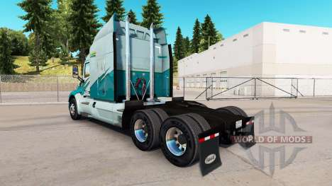 Skin on Long Haul truck Peterbilt for American Truck Simulator