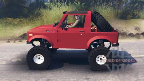 Suzuki Samurai for Spin Tires
