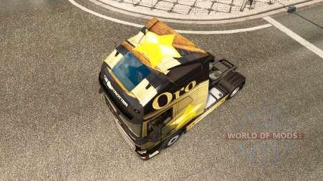 Oro skin for Volvo truck for Euro Truck Simulator 2