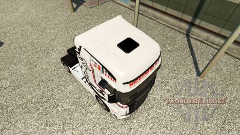 Skin NikoTrans on tractor Scania R700 for Euro Truck Simulator 2