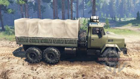 KrAZ-6322 for Spin Tires