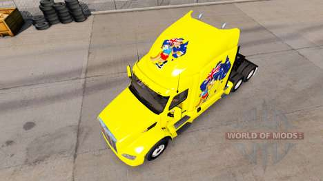 Kangaroo skin for the truck Peterbilt for American Truck Simulator
