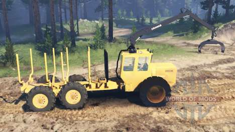 Valmet 880K for Spin Tires
