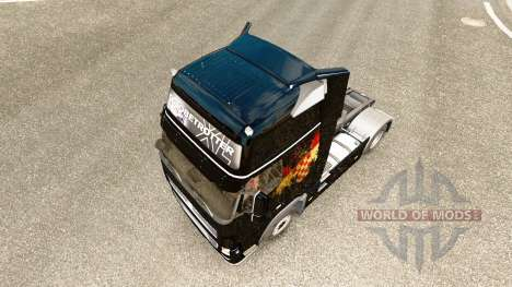 Croatian Flag skin for Volvo truck for Euro Truck Simulator 2