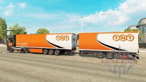 Semi-trailers Krone Gigaliner [TNT] for Euro Truck Simulator 2