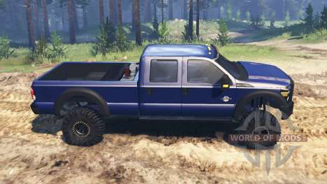 Ford F-450 2014 for Spin Tires