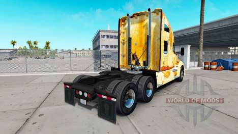 Skin Rust on the truck Kenworth for American Truck Simulator