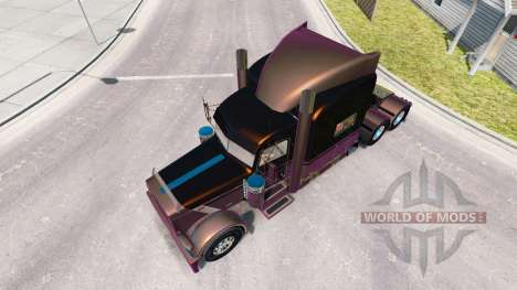 4 Metallic skin for the truck Peterbilt 389 for American Truck Simulator