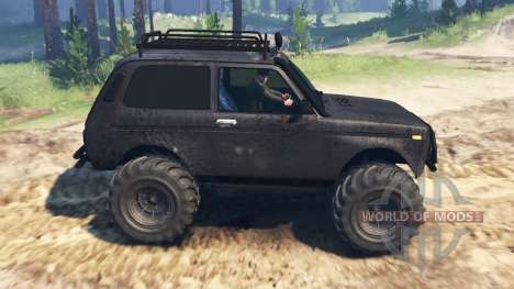 VAZ-21213 Niva for Spin Tires