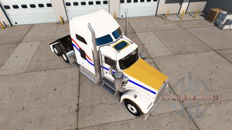Skin VIT Bicentennial of the truck Kenworth W900 for American Truck Simulator